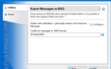 Export Messages to MSG for Outlook screenshot