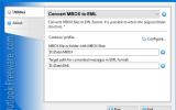 Convert MBOX to EML for Outlook screenshot