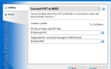 Convert PST to MSG for Outlook screenshot